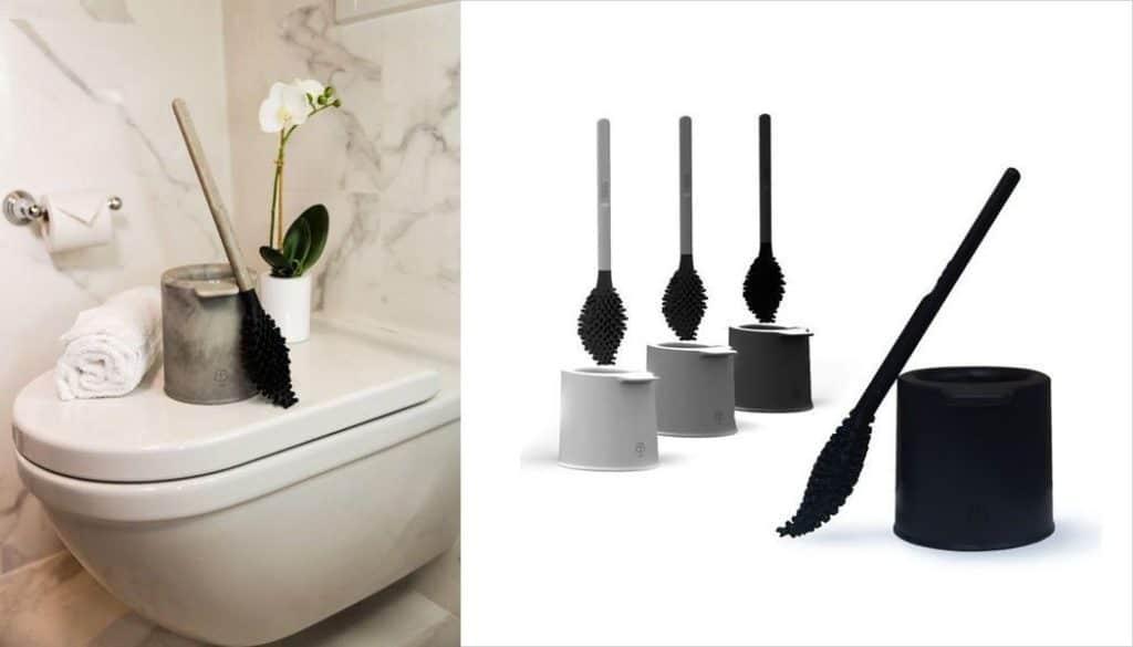 Brosse WC innovante et éco-conçue – BBB La Brosse – Noir Zan