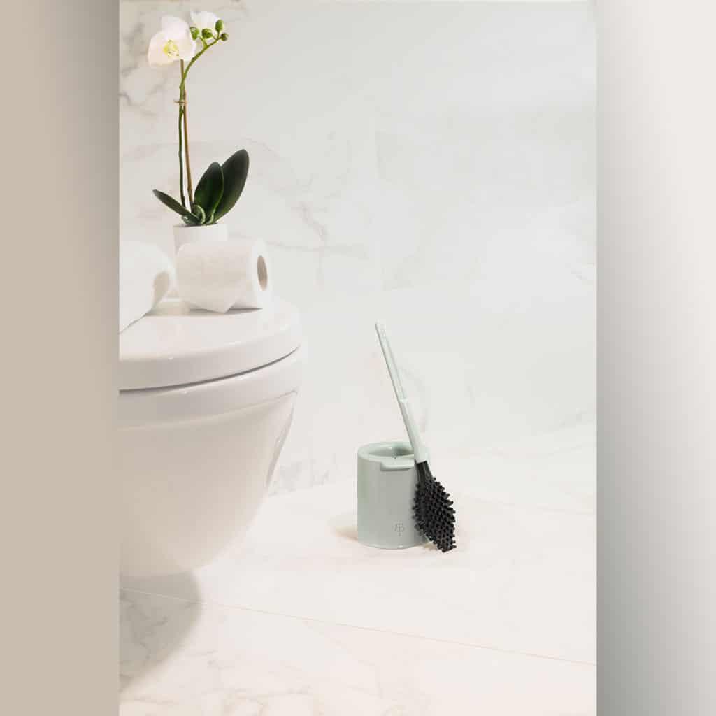 Brosse WC innovante et éco-conçue – BBB La Brosse – Gris souris