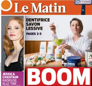 Read more about the article Le Matin – Le BOOM des produits ménagers faits maison