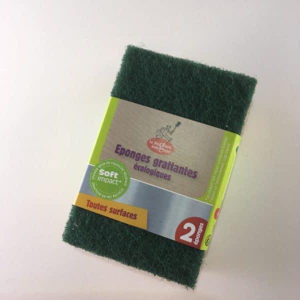 4 tampons à récurer écologiques
