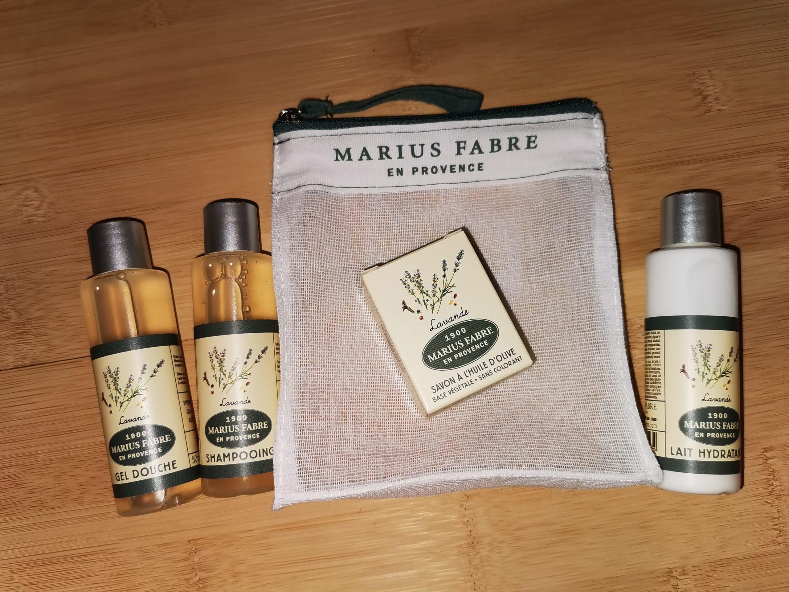Trousse de toilette voyage – Marius Fabre (Senteur Lavande)