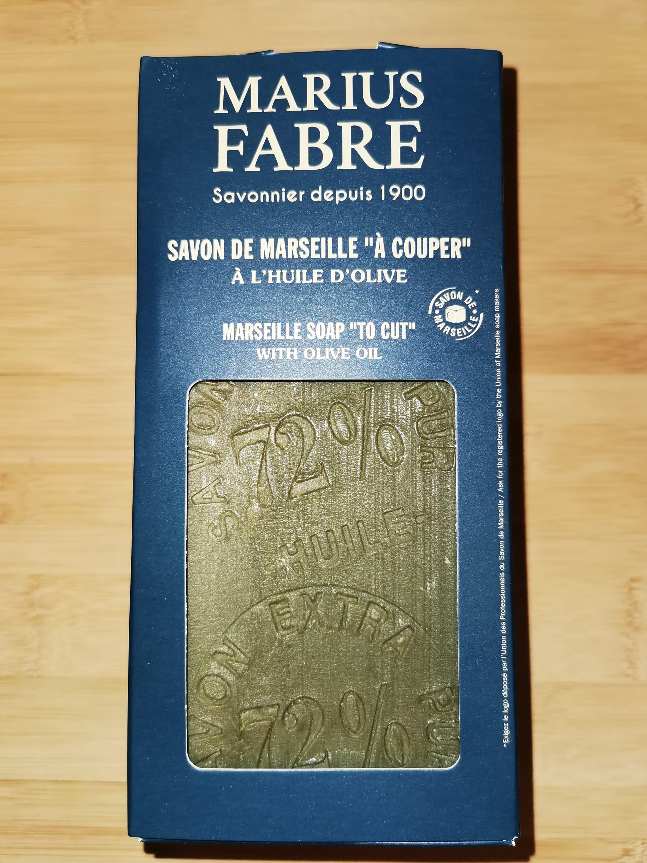 Savon de Marseille «à couper» à l'huile d'olive 1kg – Marius Fabre (Gamme Nature)