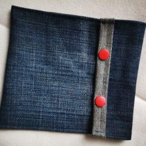 Pochette en jeans