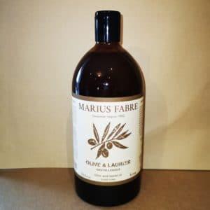 """Savon d'Alep liquide """"Olive & Laurier"""" 1L – Marius Fabre"""