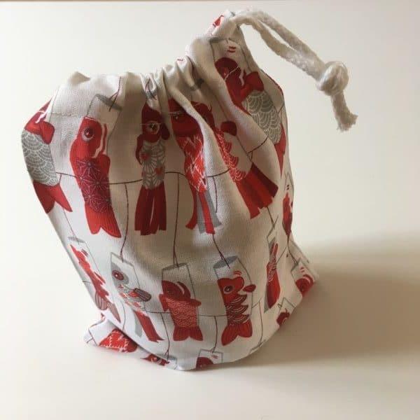 Lot de sacs en coton oeko-tex
