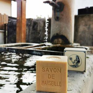 Savon de Marseille blanc pour le linge 400 g – Marius Fabre – Sans huile de palme
