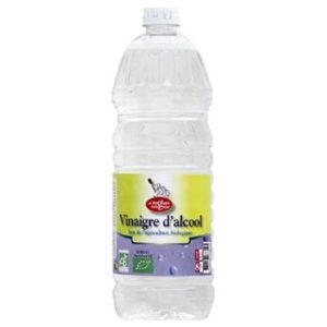 Vinaigre 1 litre Bio 8° certifié par Ecocert