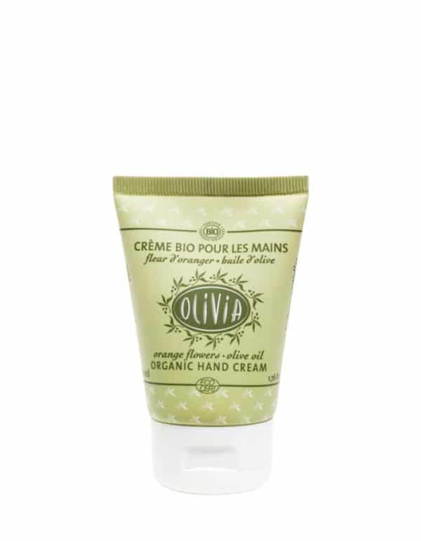 Olive Oil Hand Cream - certified organic