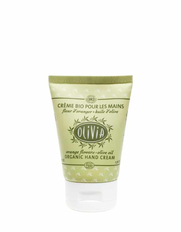 Olive Oil Hand Cream – certified organic