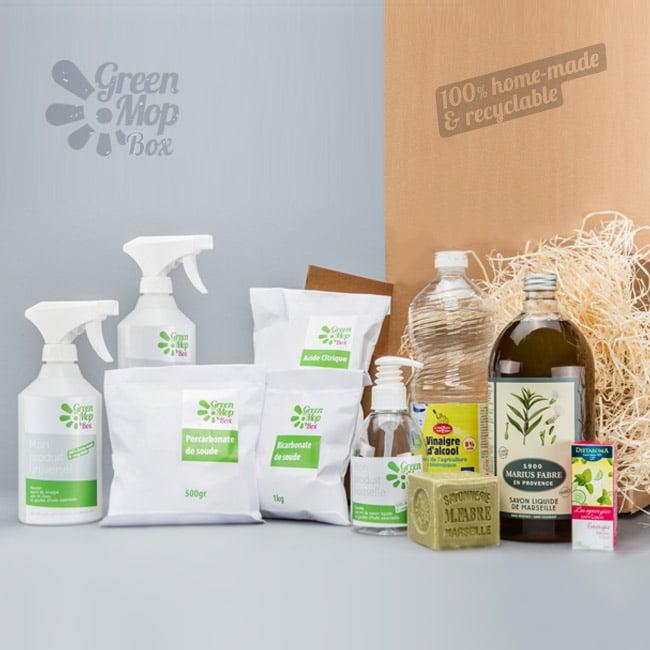 GreenMopBox – Pour apprendre à faire ses produits ménagers soi-même