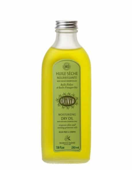 Huile sèche à l'huile d'olive et à l'huile d'onagre, certifiée BIO