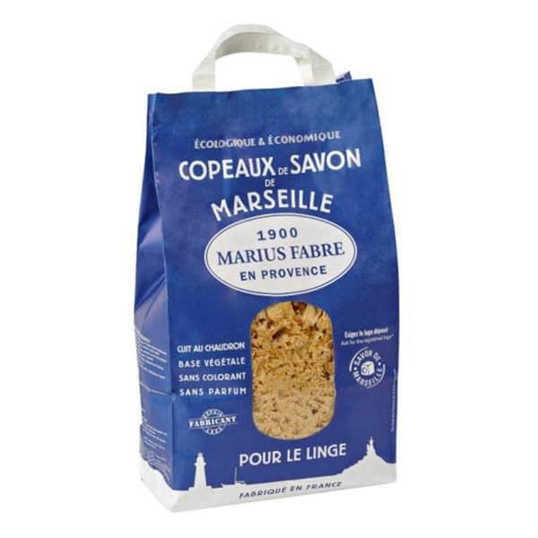 Copeaux de savon de Marseille Marius Fabre 1Kg