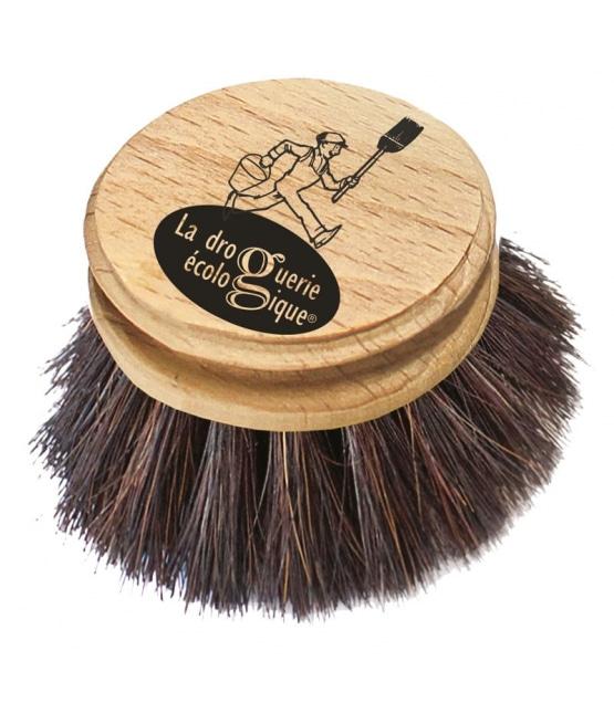Recharge brosse vaisselle en bois et crin de cheval