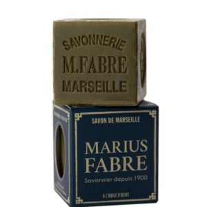 Savon de Marseille vert à l'huile d'olive 200 g – Marius Fabre