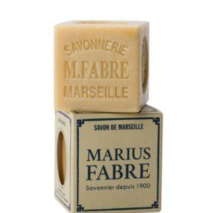Savon de Marseille blanc pour le linge 200 g – Marius Fabre – Sans huile de palme