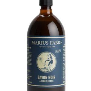 Savon noir liquide à l'huile d'olive 1 L – Marius Fabre