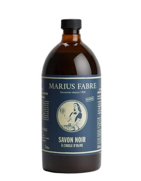 Die Original Schwarze Olivenöleseife 1L