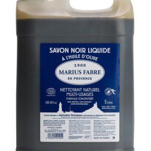 Savon noir liquide à l'huile d'olive 5 L – Marius Fabre