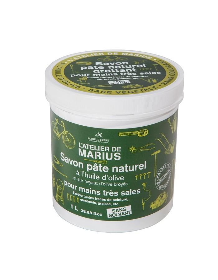 Savon pâte naturel grattant à l'huile d'olive 1L – Marius Fabre