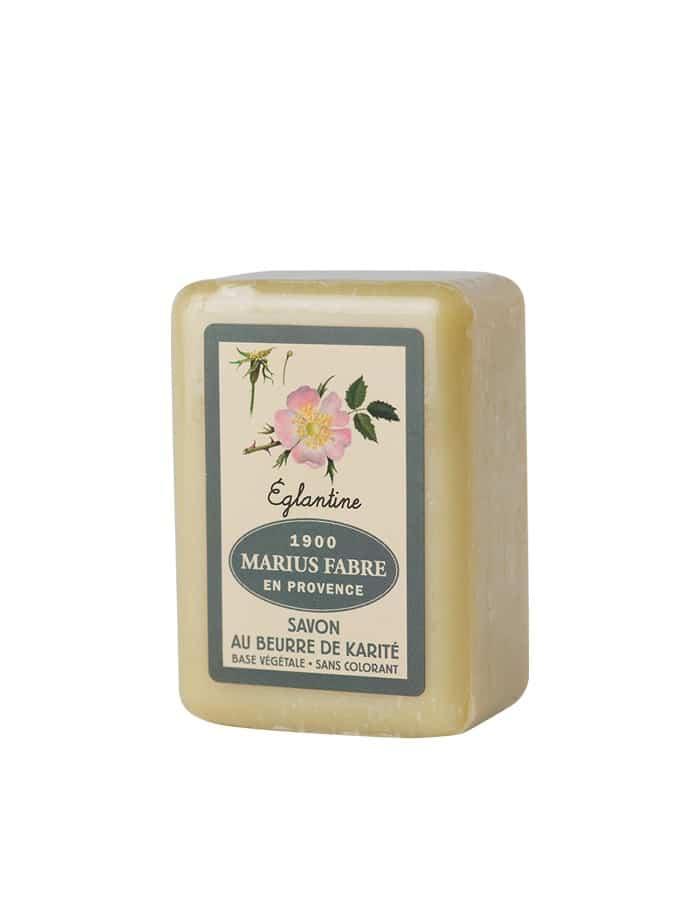 Savonnette au beurre de karité & à l'Églantine 150g – Marius Fabre (Gamme Herbier)