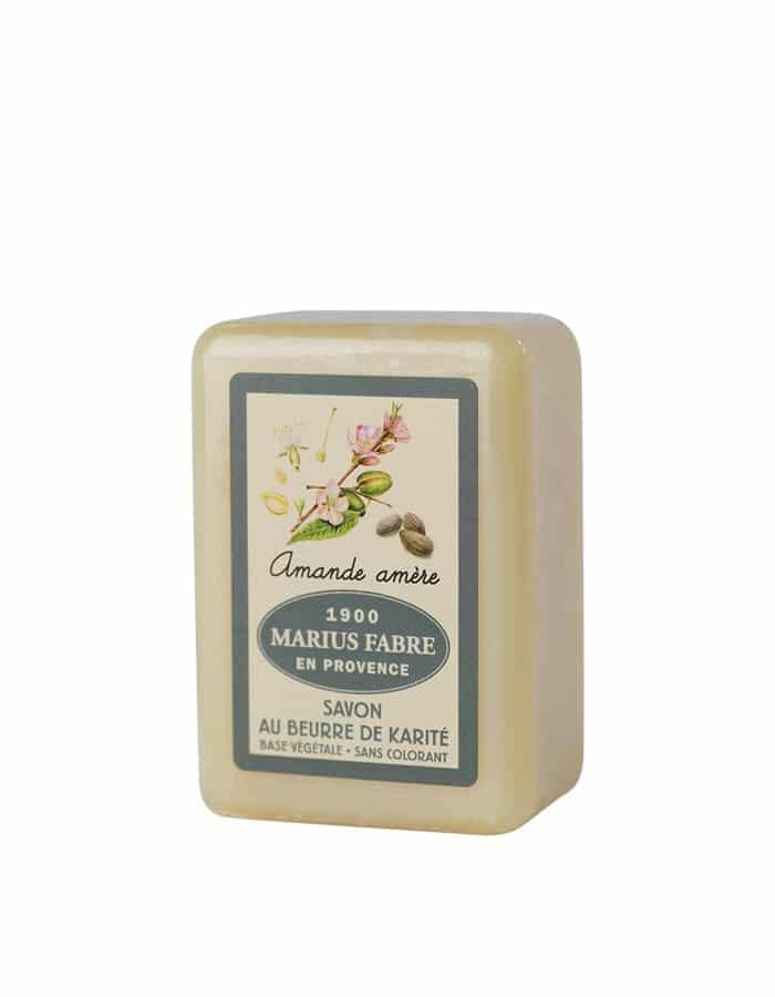 Savonnette au beurre de karité & à l'Amande amère 150g – Marius Fabre (Gamme Herbier)