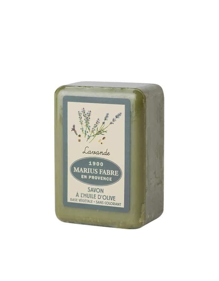 Olive oil toilet soap, lavender fragrance