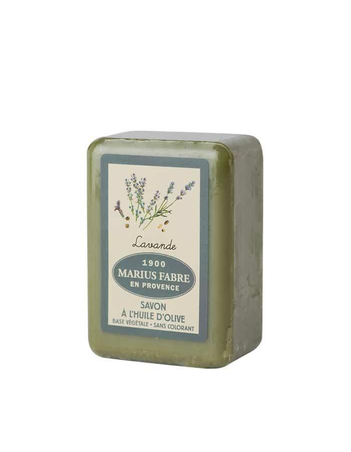Olive oil toilet soap, lavender fragrance