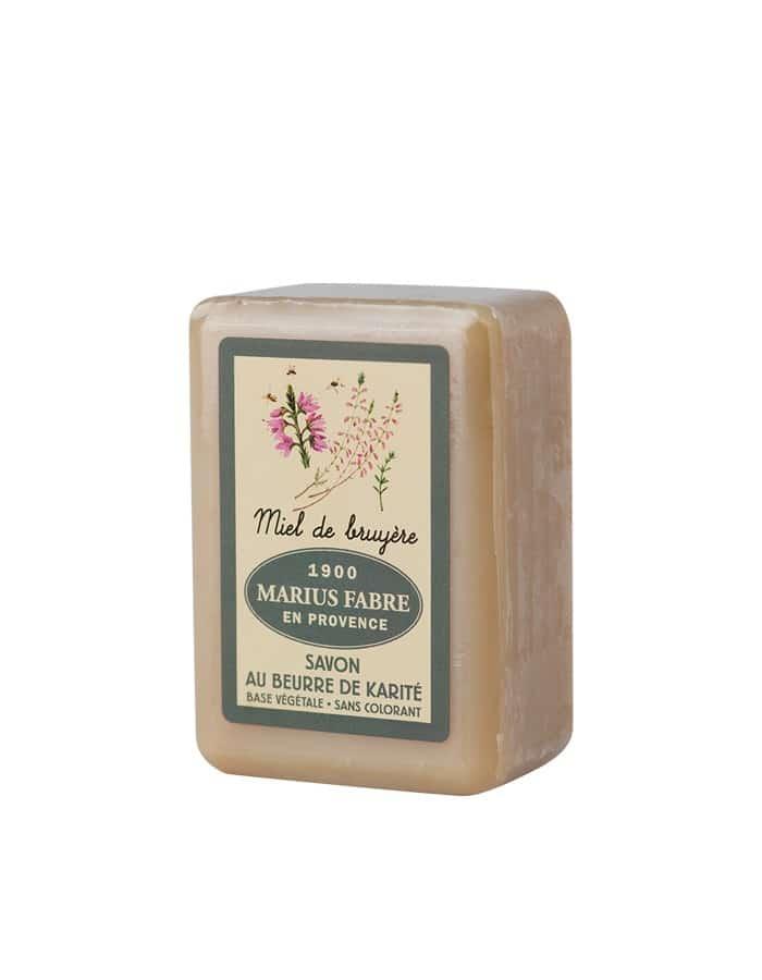 Savonnette au beurre de karité & au Miel de Bruyère 150g – Marius Fabre (Gamme Herbier)