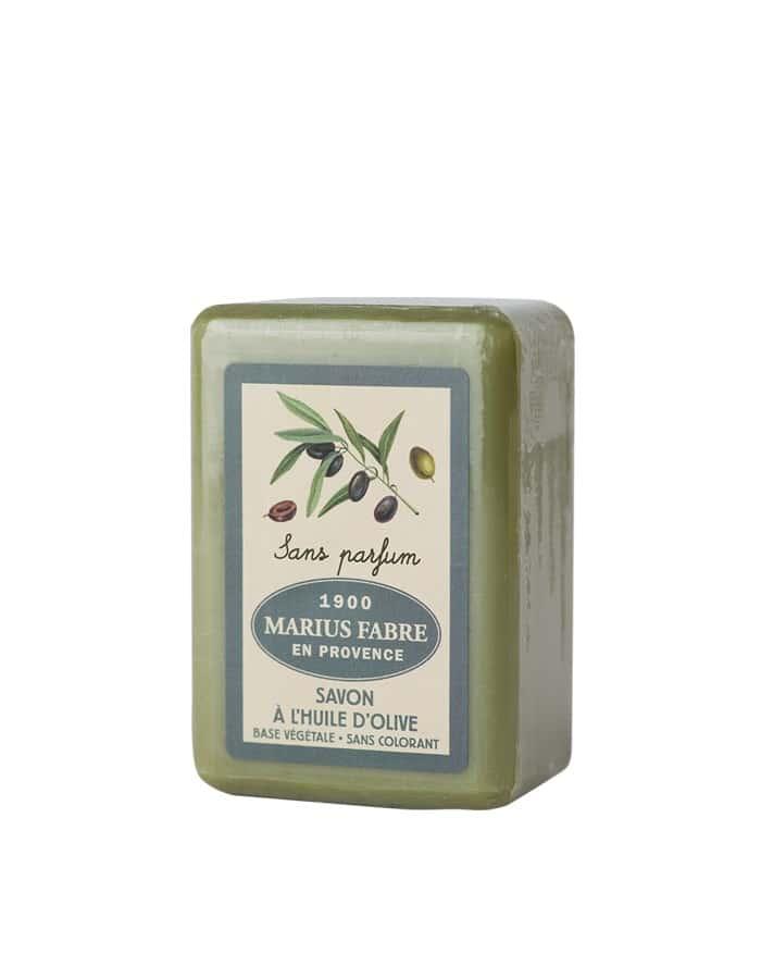 Savonnette à l'huile d'olive, sans parfum 150g – Marius Fabre (Gamme Herbier)