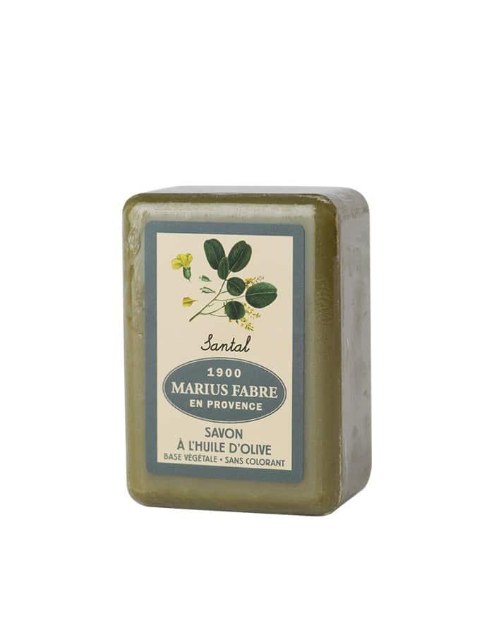 Savonnette à l'huile d'olive & au Santal 150g – Marius Fabre (Gamme Herbier)