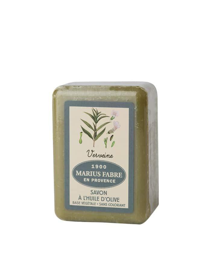 Savonnette à l'huile d'olive & à la Verveine 150g – Marius Fabre (Gamme Herbier)