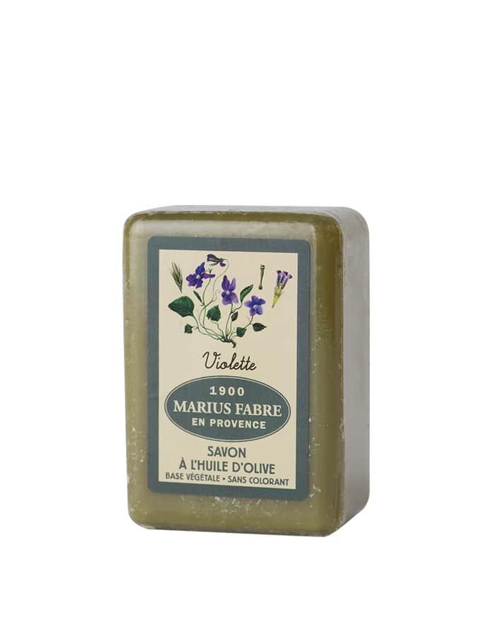 Savonnette à l'huile d'olive & à la Violette 150g – Marius Fabre (Gamme Herbier)