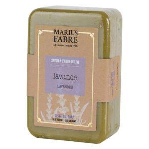 Savonnette à l'huile d'Olive & à la Lavande 250 g – Marius Fabre