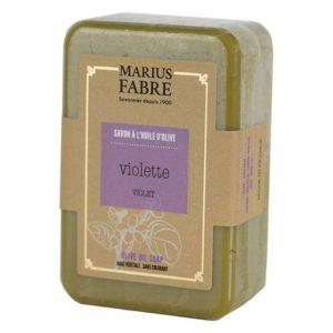 Savonnette à l'huile d'Olive & à la Violette 250 g – Marius Fabre