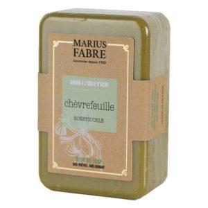 Savonnette à l'huile d'Olive & au Chèvrefeuille 250 g – Marius Fabre