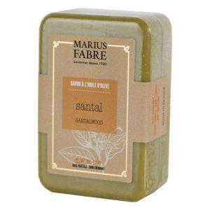 Savonnette à l'huile d'Olive & au Santal 250 g – Marius Fabre