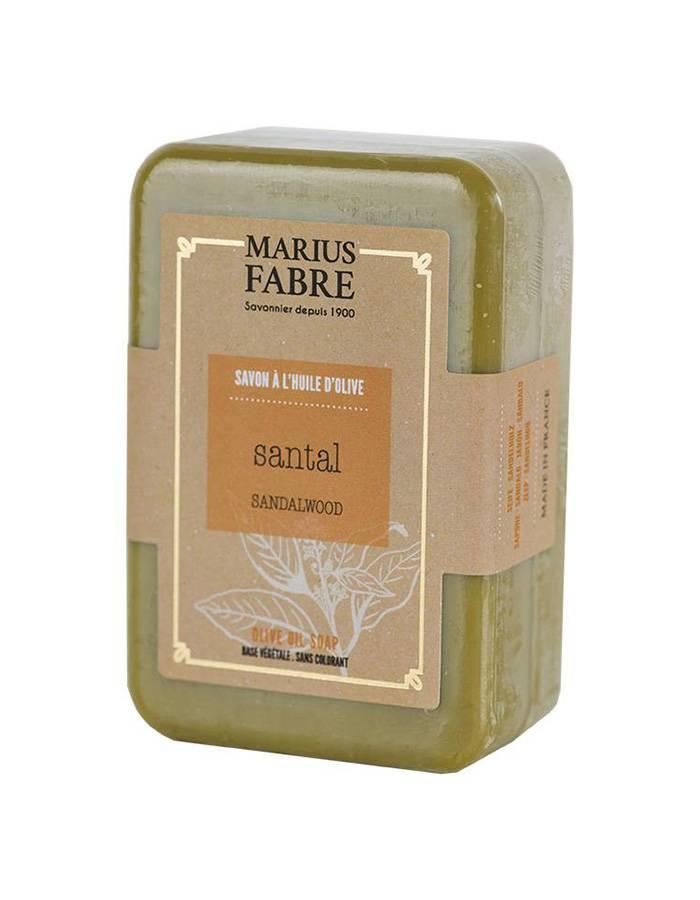 Savonnette à l'huile d'olive & au Santal 150g – Marius Fabre