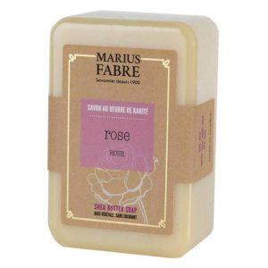 Savonnette au beurre de Karité & à la Rose 250 g – Marius Fabre