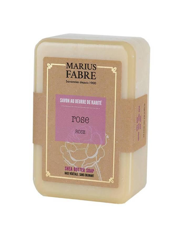 Savonnette au beurre de karité & à la Rose 150g – Marius Fabre