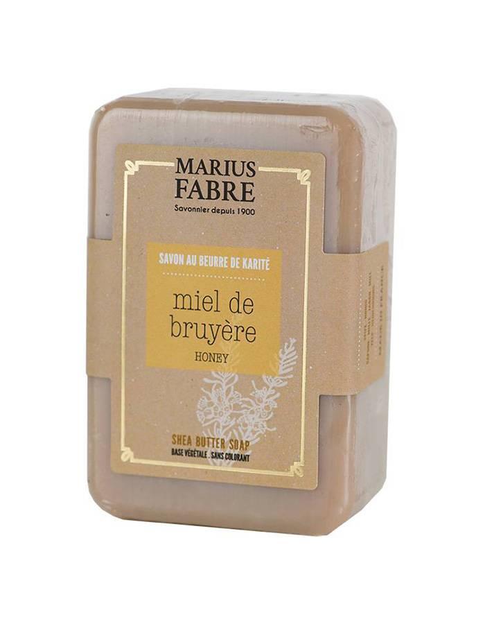 Savonnette au beurre de karité & au Miel de Bruyère 150g – Marius Fabre